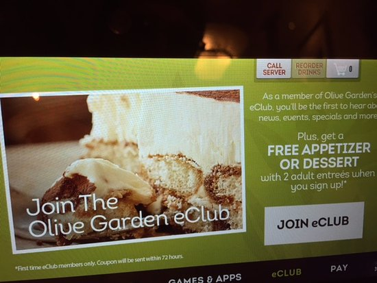 Olive Garden, Kingston - 560 Kings Mall Ct - Menu, Prices ...