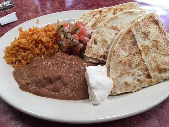 Carbondale, CO: Tasty soup and quesadilla - give it a go!!  Carpe diem!!