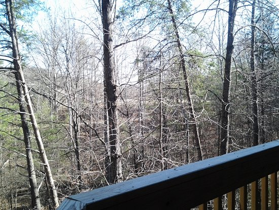 Lake Lure, NC: view from balcony