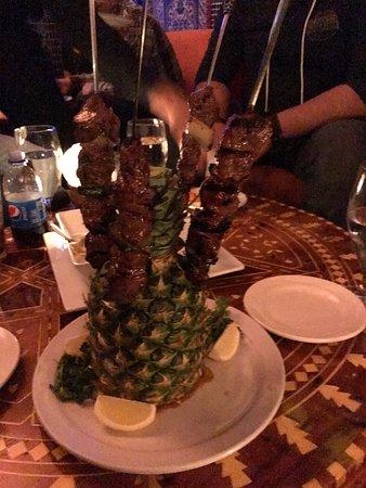 Marrakech Mediterranean Restaurant : Beef Kebobs
