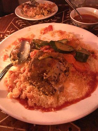 Marrakech Mediterranean Restaurant : Chicken Couscous