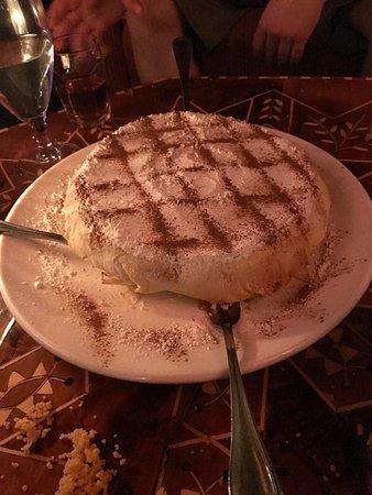 Marrakech Mediterranean Restaurant : Filo Dessert Cake with Dates and Nuts