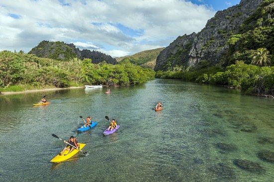 Kayak à Hienghène en Nouvelle-Calédonie