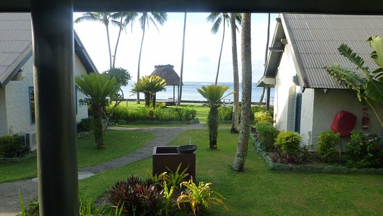 Fiji Hideaway Resort & Spa : view from the verandah