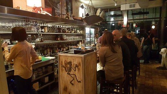 Hazel Park, MI: Mabel Gray's bar.