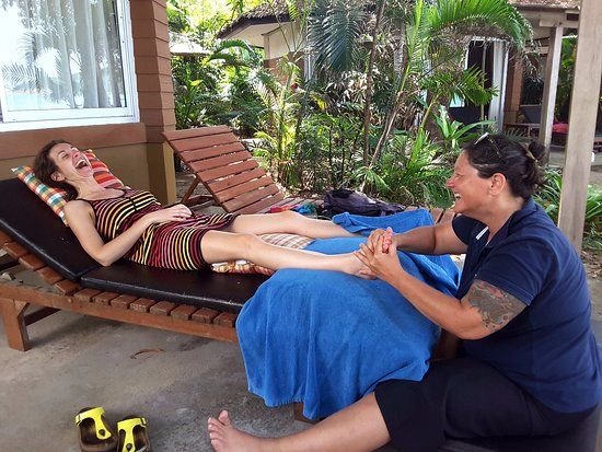 Lipa Noi, Tailandia: Reflexology foot massage