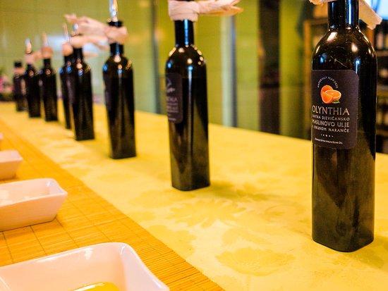 Rogac, Croatia: Olive Oil Tasting at Olynthia