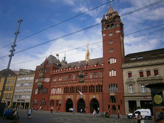 Photo of Monument / Landmark Rathaus at Marktplatz 9, Basel 4001, Switzerland