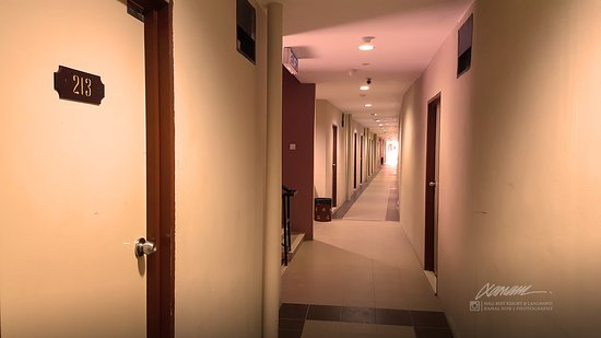 Malibest Resort: The corridor