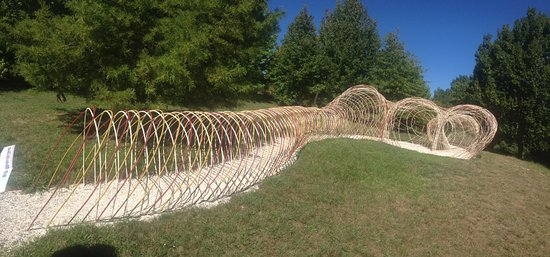Brick Bay Sculpture Trail: A most inventive walkway