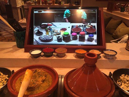 La Maison Arabe: Cooking class