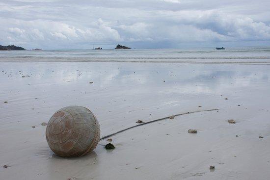 Praslin, Seychellerna: Weite, einfach Weite.