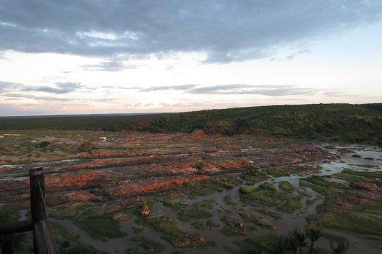 Olifants Rest Camp: uitzicht