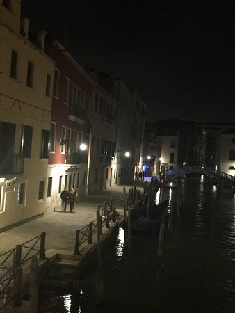 Al Bailo di Venezia: Looking back towards Al Bailo