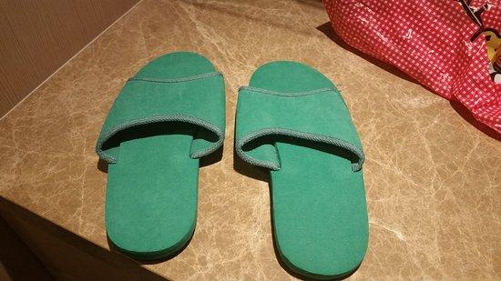 Shangri-La's Rasa Sentosa Resort & Spa: The ugly slippers