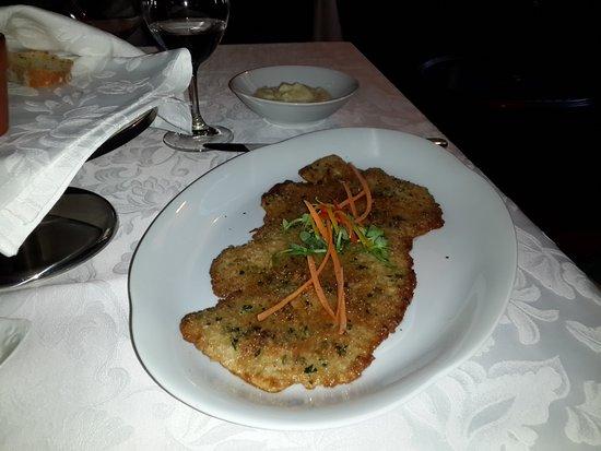 Restaurant Renomme: Apparently fine dining schnitzel
