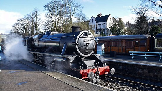 North Yorkshire Moors Railway: Ready to depart.