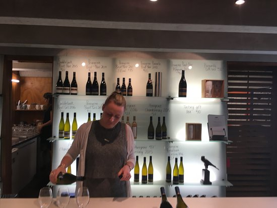 Peregrine Wines: The tasting room