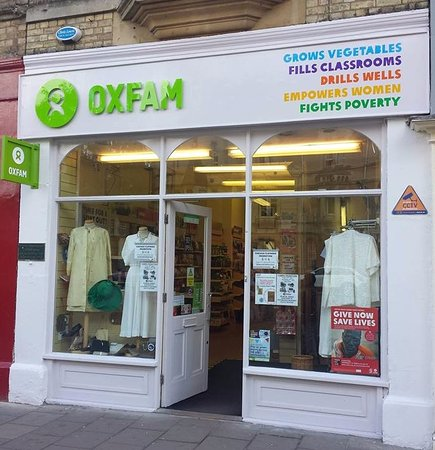 Oxfam Shop Oxford