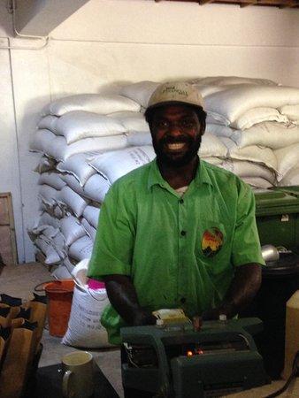 Tanna Coffee Roasting Factory : Jacob