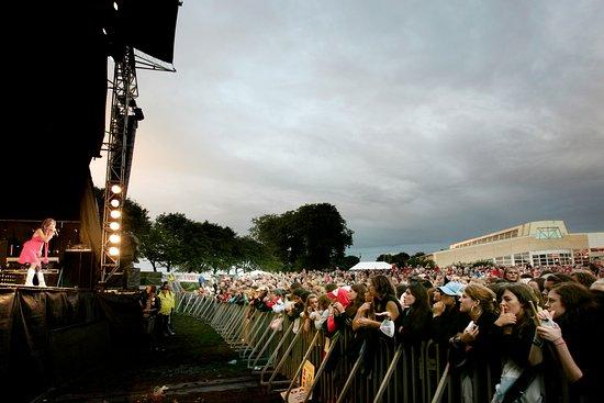 Uppsala, Svezia: Utomhuskonsert