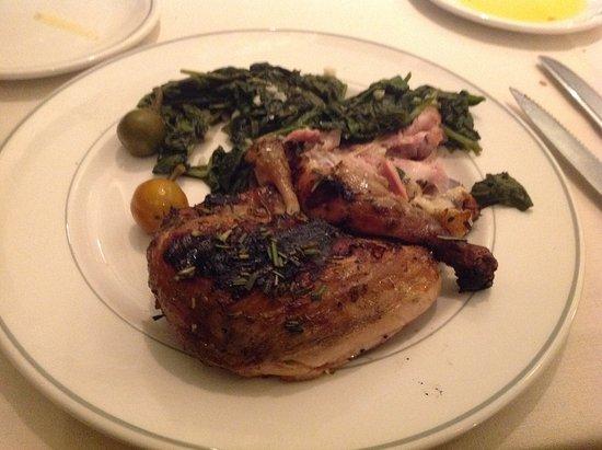 Delancey Street Restaurant : Grilled chicken