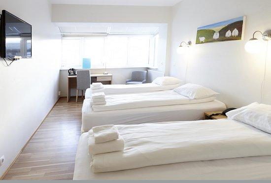 Fosshotel Lind: Triple room