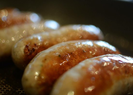 Bexhill-on-Sea, UK: Speldhurst sausages