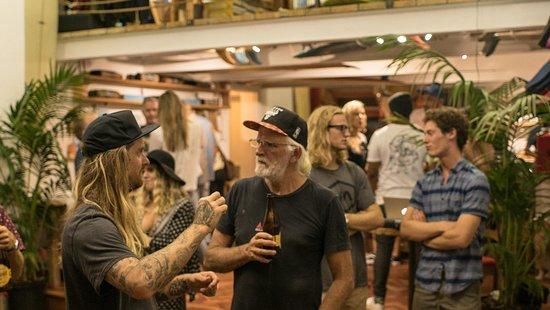 Κόλπος Saint Francis, Νότια Αφρική: Our beers being enjoyed at a RVCA South Africa event in Cape Town