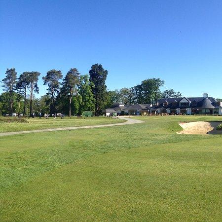 Fleet, UK: North Hants Golf Club, course view