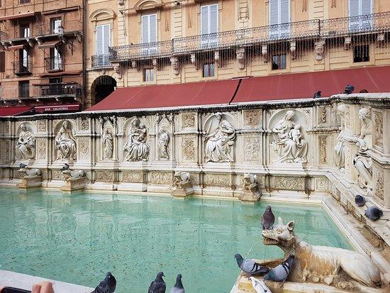 Siena, Italia: Fonte Gaia