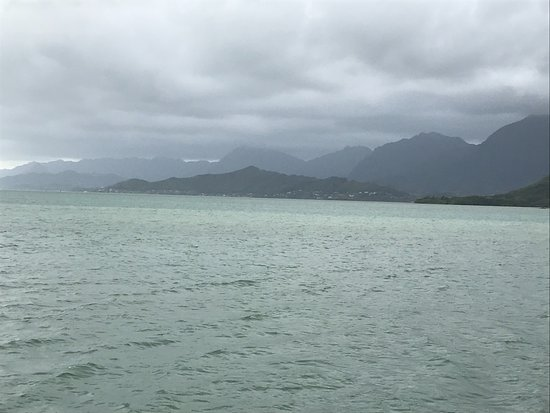 Kaneohe, HI: Ocean Voyage that started out with rough weather