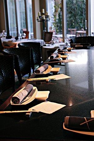 Suitenhotel Parco Paradiso: Japanese Restaurant Tsukimi Tei with Teppanyaki