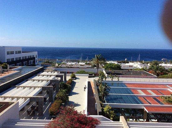 Hotel hesperia from offshore picture of hesperia lanzarote puerto calero tripadvisor - Hesperia lanzarote puerto calero ...