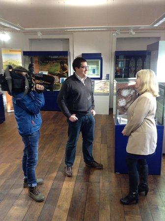 Ludlow Museum: BBC Midlands Today visit!