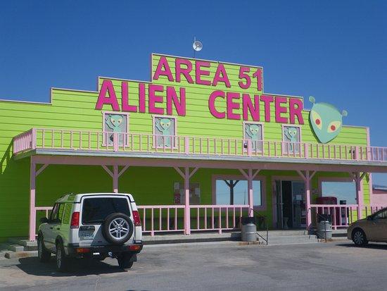 Amargosa Valley, NV: Area 51 Alien Center