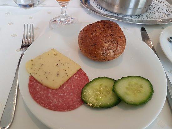 Wolfegg, Deutschland: Frühstück