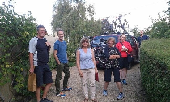 Parcay-les-Pins, Frankrig: Our cycling tours include wine tastings (with a lift home!)