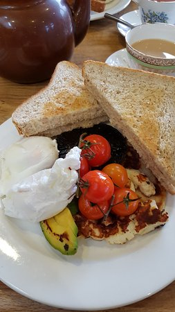 Kippen, UK: Vegetarian Breakfast