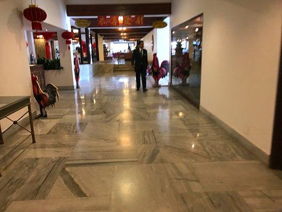 Hotel Annapurna: Corridor towards Lobby