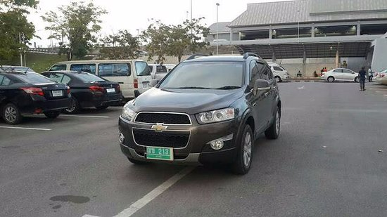 Pak Nam, Thailand: Luxury suv the Chevrolet captiva or similar