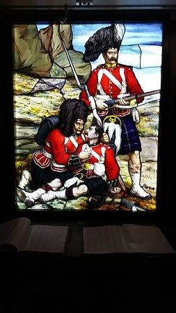 Perth, UK: Stain Glass Window
