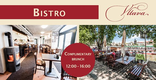 Archibald At the Charles Bridge: Complimentary Brunch available at our Bistro