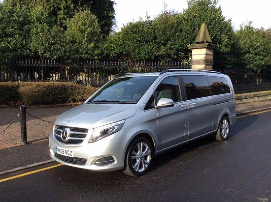 Butler's Chauffeur Drive: Mercedes V Class 7 seater