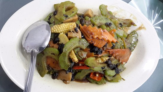 Name card - Picture of Merryland Vegetarian Health Food Restaurant