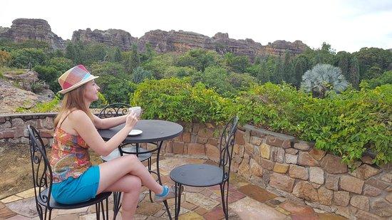 Ranohira, Madagascar: coffee with views