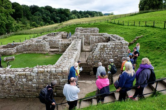 Hexham, UK: Chester's Fort foundations for bath house