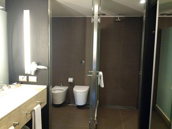 Cuarto de baño, ducha y antebaño habitaciòn superior 309: fotografía ...