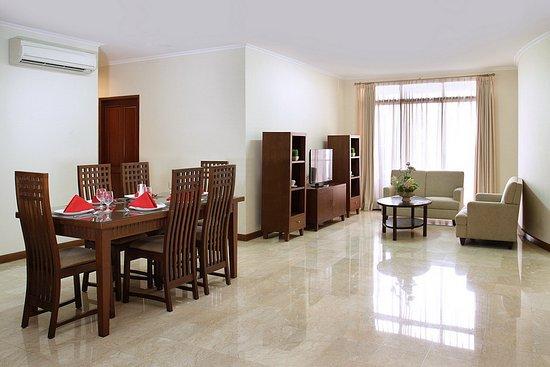 Midtown Residence Jakarta Ruang Tamu R Klasik