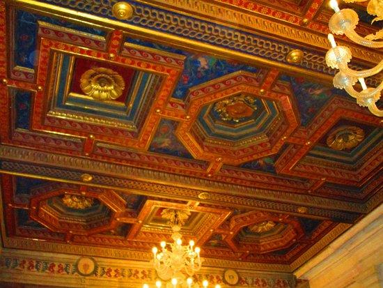 Soffitti a cassettoni decorati e dipinti picture of musei